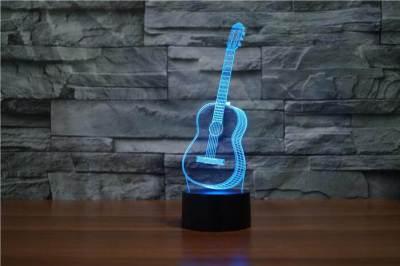 3D Guitar LED LIGHT Reviewed
