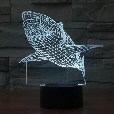3D Shark Illusion LED LIGHT