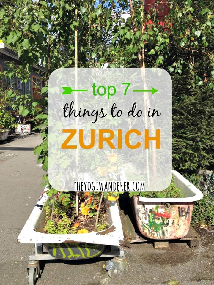 Top 7 things to do in Zurich, Switzerland