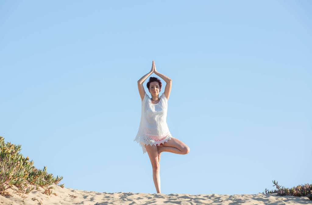 3 yoga exercises you can do anywhere (no mat needed)