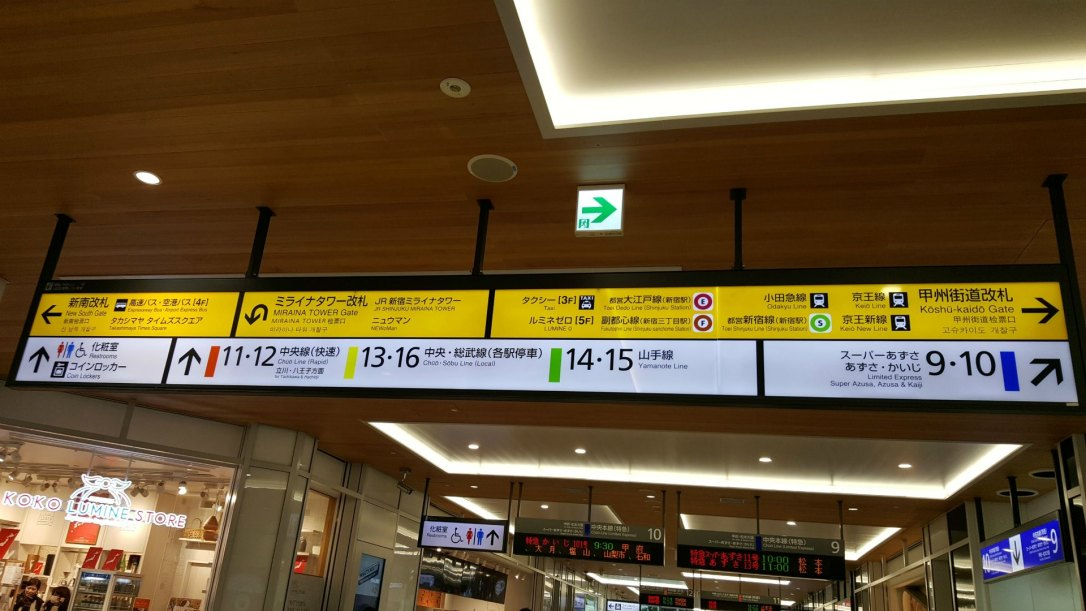 How to Get A Job in Japan - Japanese Train Station Sign