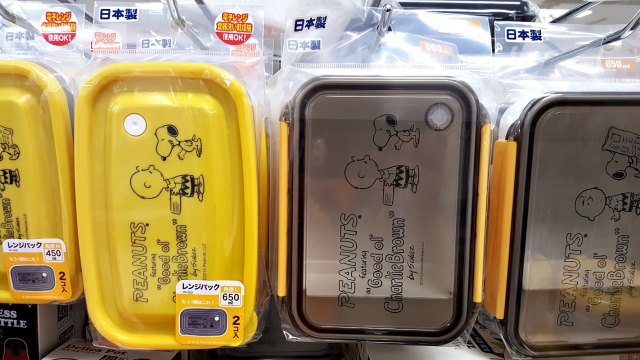 Bento Style Lunch Boxes for Adults - Snoopy Boxes