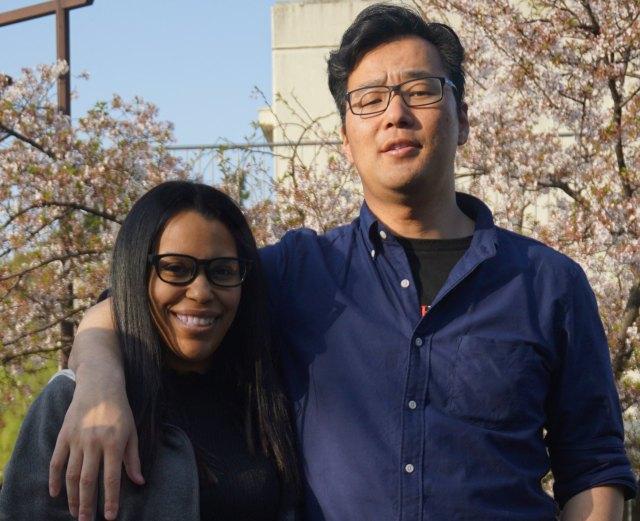 BF and I at Hanami