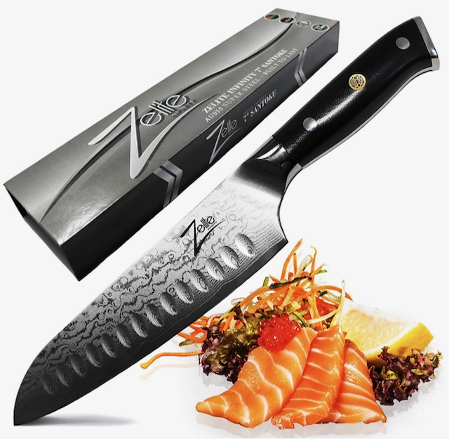 20 Holiday Gift Ideas for Japanese Culture Lovers - Santoku Knife