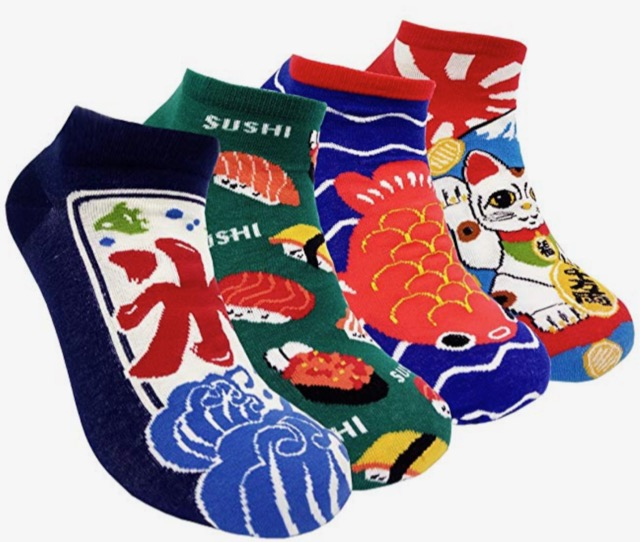 20 Holiday Gift Ideas for Japanese Culture Lovers - Socks