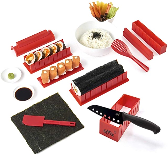 20 Holiday Gift Ideas for Japanese Culture Lovers - Sushi Set