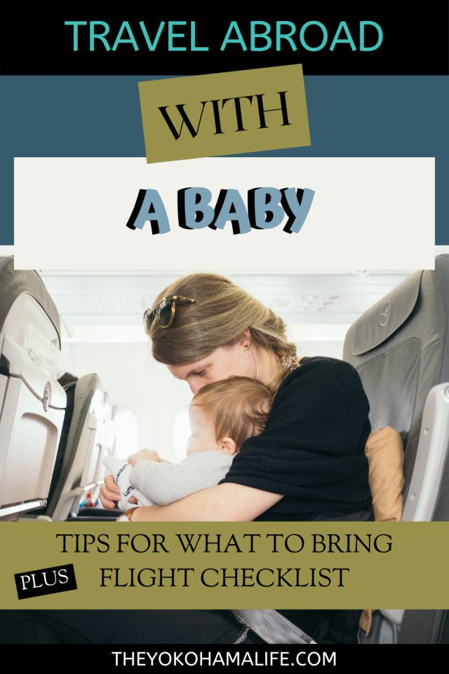 Traveling abroad with a baby