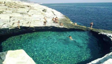 The Giola Lagoon Greece - Natural Pool