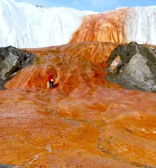 Blood Falls Antarctica Facts - McMurdo Dry Valleys