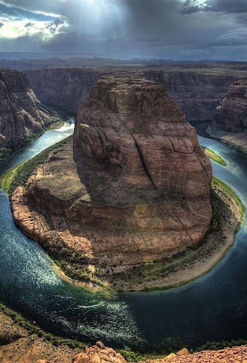 Horseshoe Bend, Colorado River - Grand Canyon USA
