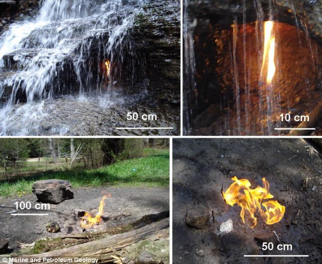Gas Needed To Burn To Measure Flames Size - Photo Credits Daily Mail UK