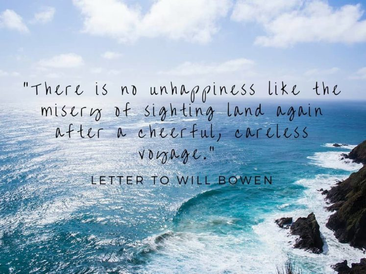 Travel Quotes By Mark Twain - Letter to Will Bowen
