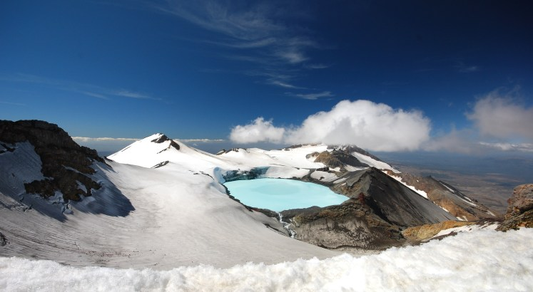 The Tongariro National Park - New Zealand Travel Destiantion Photos | Photo Credits: GuideToNewZealand Official Website