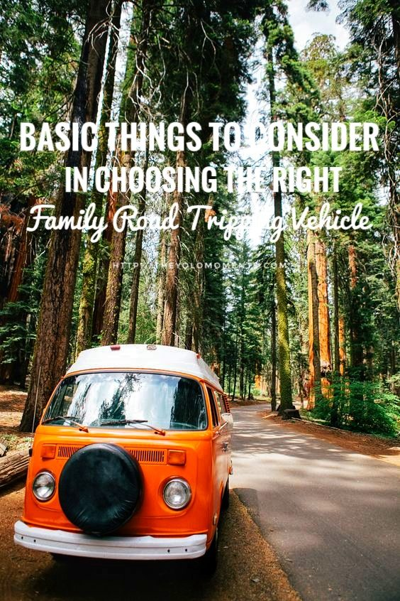Choosing The Right Family Road Tripping Vehicle - Simple Tips For Fantastic Vacation