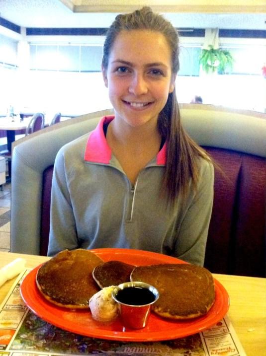 leigha @ pancakes