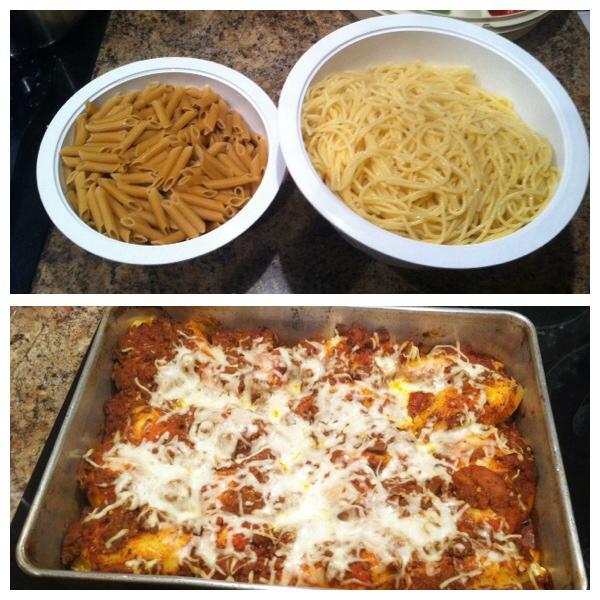 pasta and shells