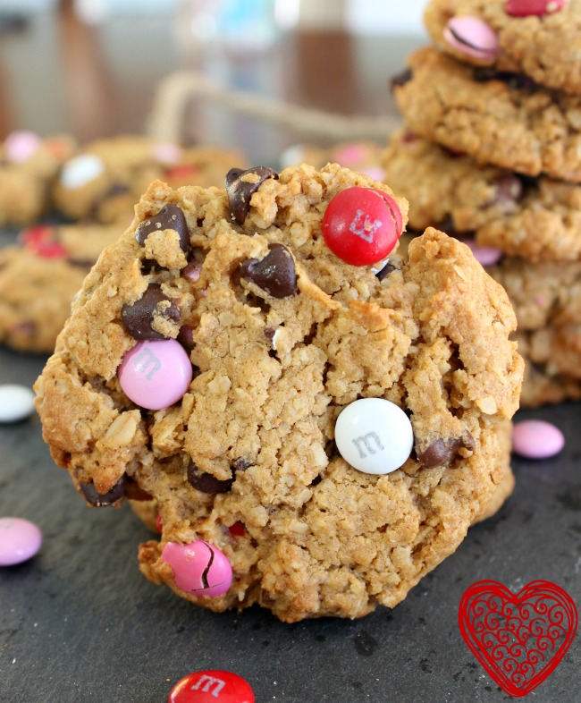 valentines day monster cookie 2