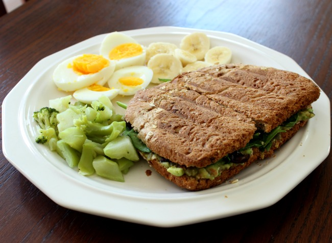 guacamole grilled cheese and lunch