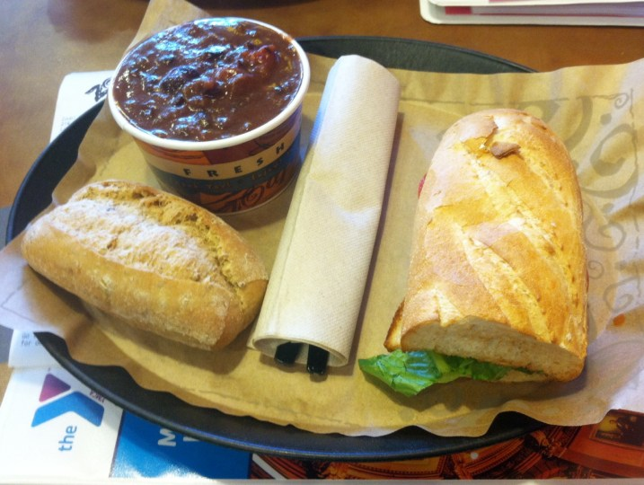 lunch at zoup