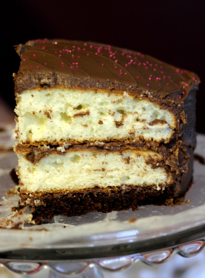 three layer cake