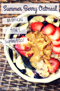 Summer Berry Oatmeal