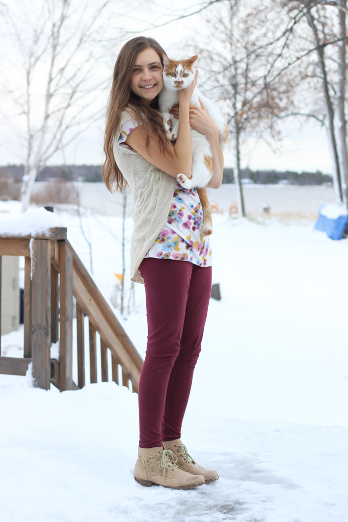 cute winter outfit-7
