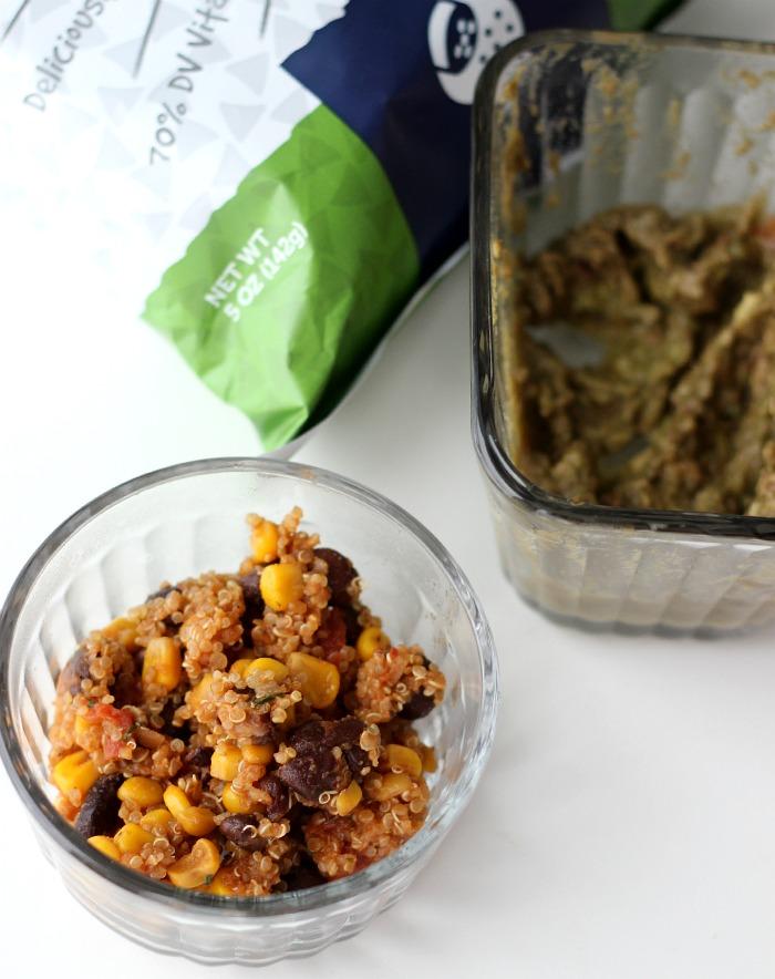 leftover quinoa guacamole