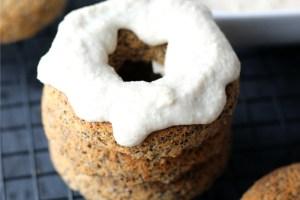 Vegan Baked Chia Power Doughnuts