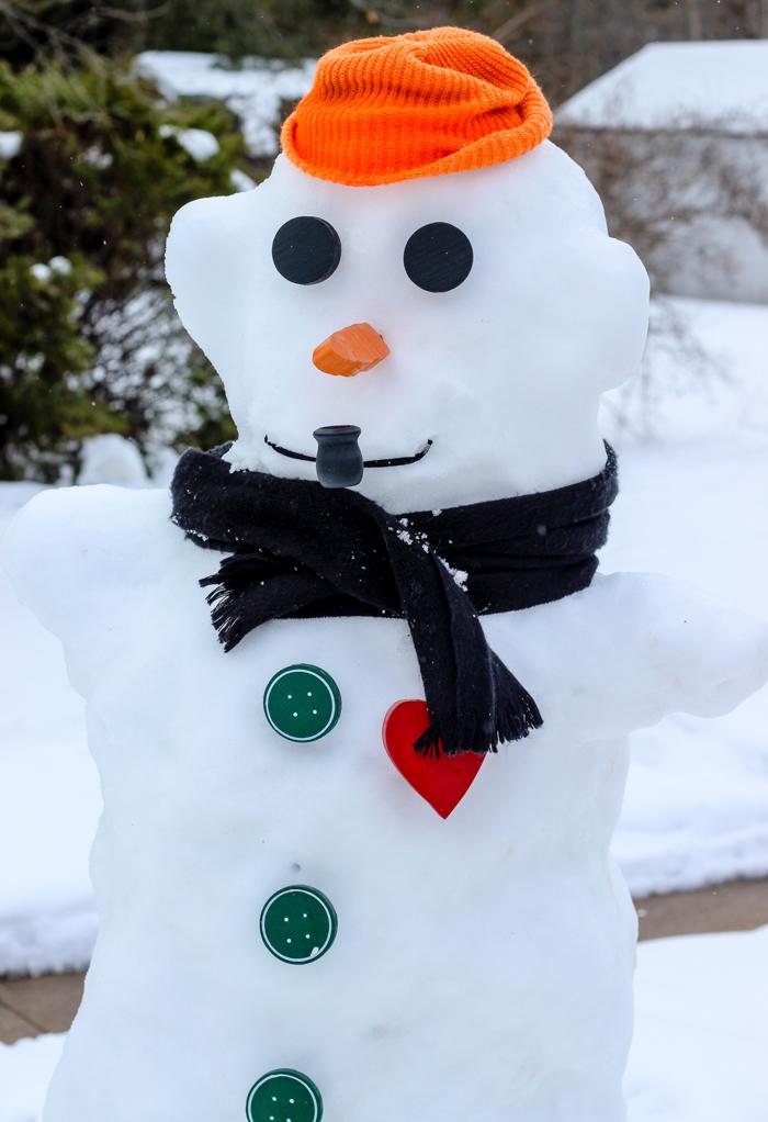 grandpas snowman