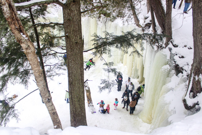 Eben Ice Caves - Michigan's Upper Peninsula