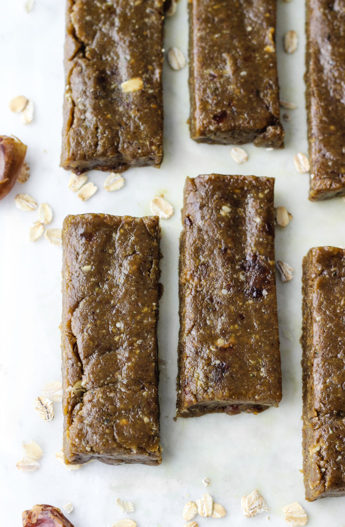 Simple Peanut Butter Matcha Energy Bars | The Yooper Girl-6