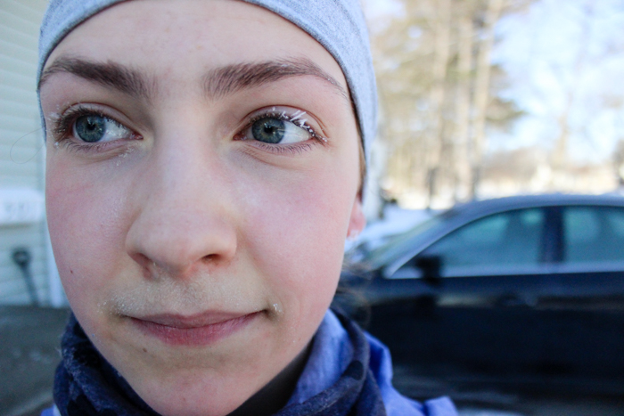 icicle eyelashes