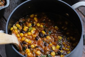 Black Bean Lentil Soup