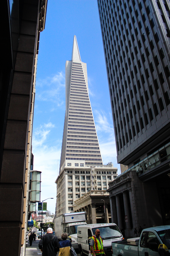 pointy building