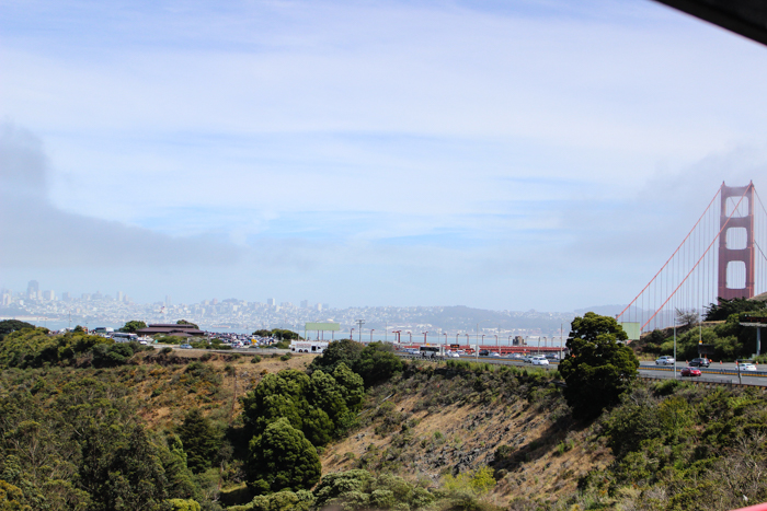 goldengate bridge city view