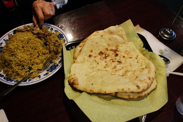 indian food naan