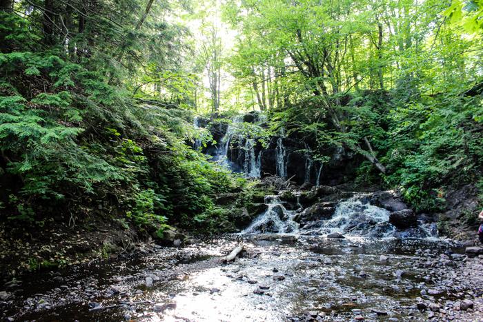 hiking hungarian falls pretty waterfall