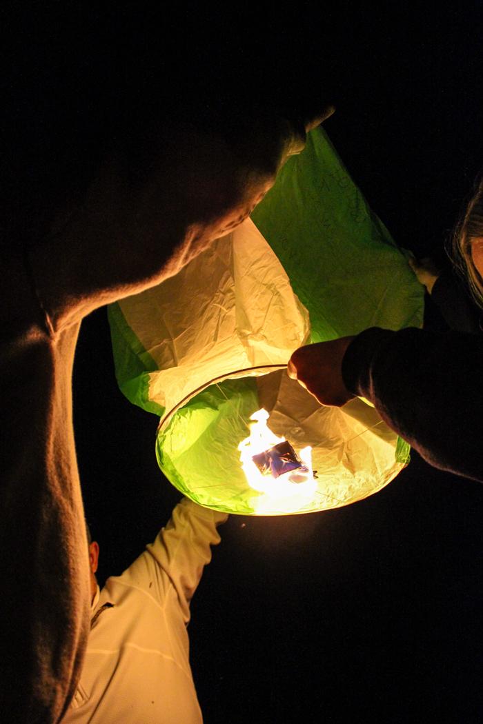 lanterns lift off