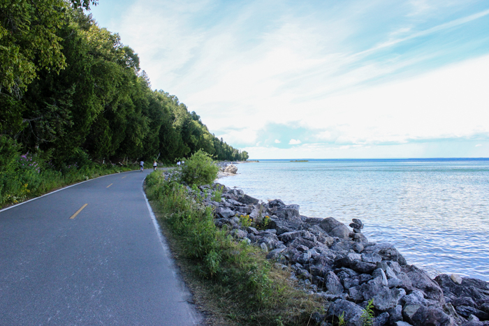 mackinac island bike path