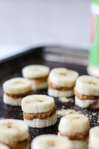 Peanut Butter Banana Freezer Bites {giveaway!}
