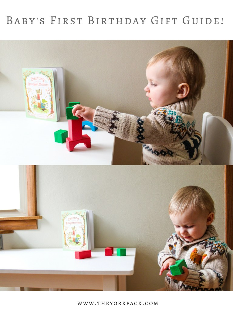 Babys First Birthday Gift Guide