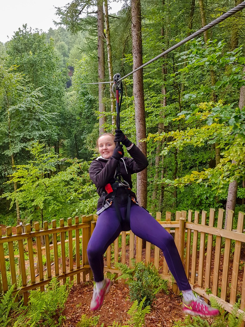 Go Ape Tree Top Adventure Dalby Forest North Yorkshire