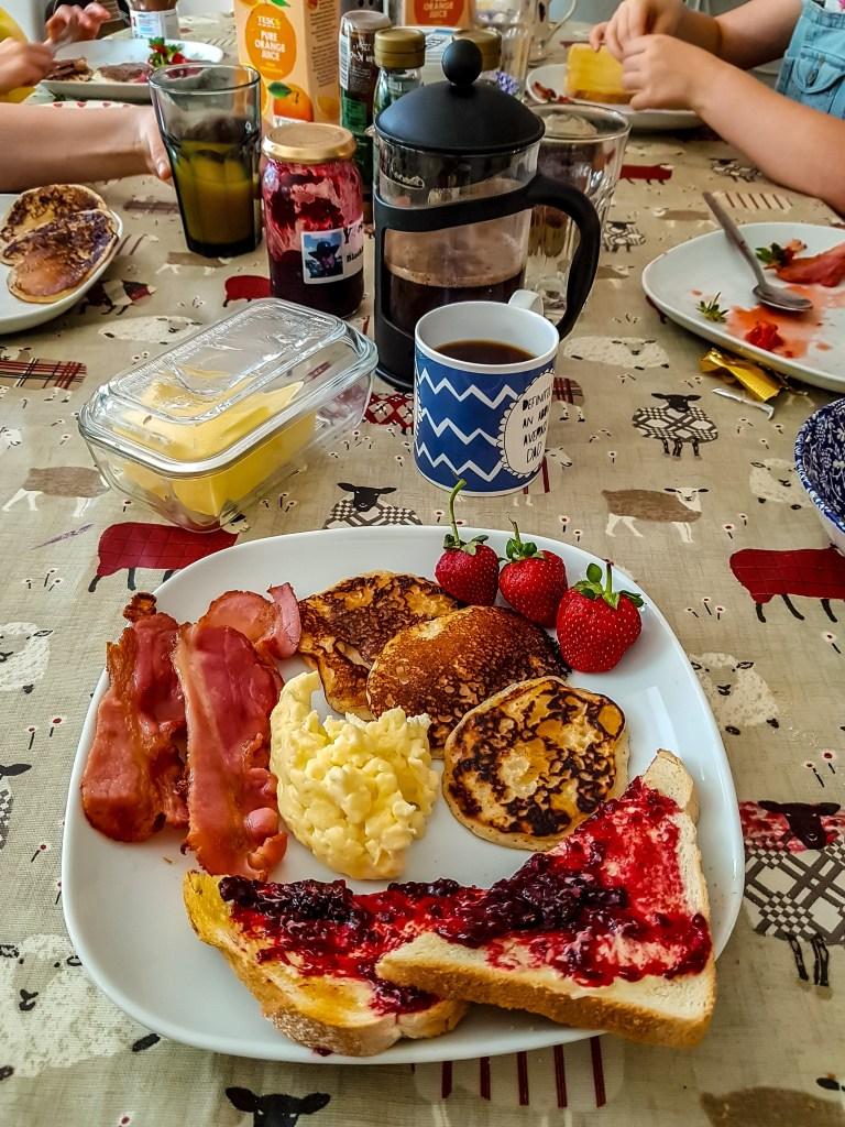 America breakfast