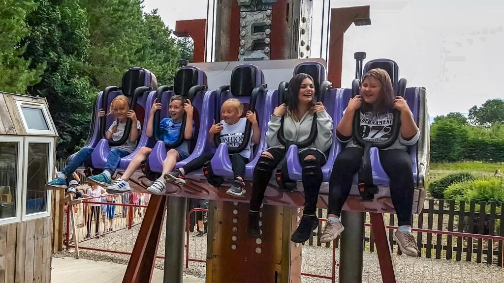 Lightwater Valley Theme Park trauma tower