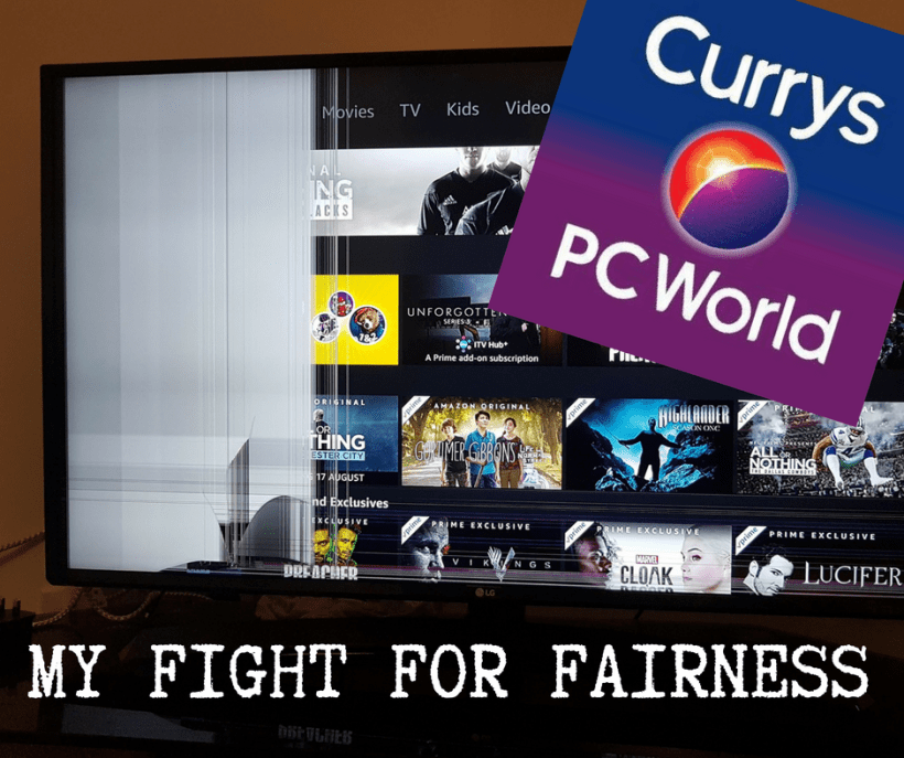 Currys PC World My Fight for Fairness The Yorkshire Dad of 4