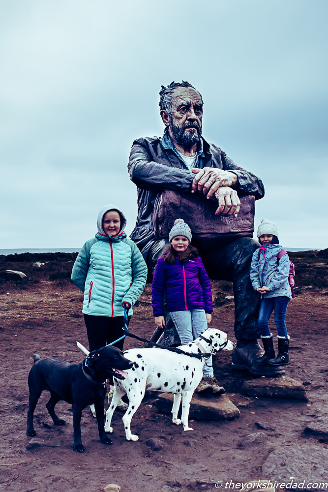 The Man on the Moors (Seated Figure) | The Yorkshire Dad of 4