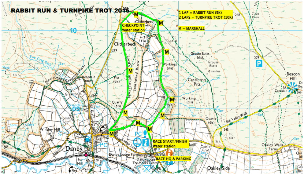 Turnpike Trot 10k | The Yorkshire Dad of 4