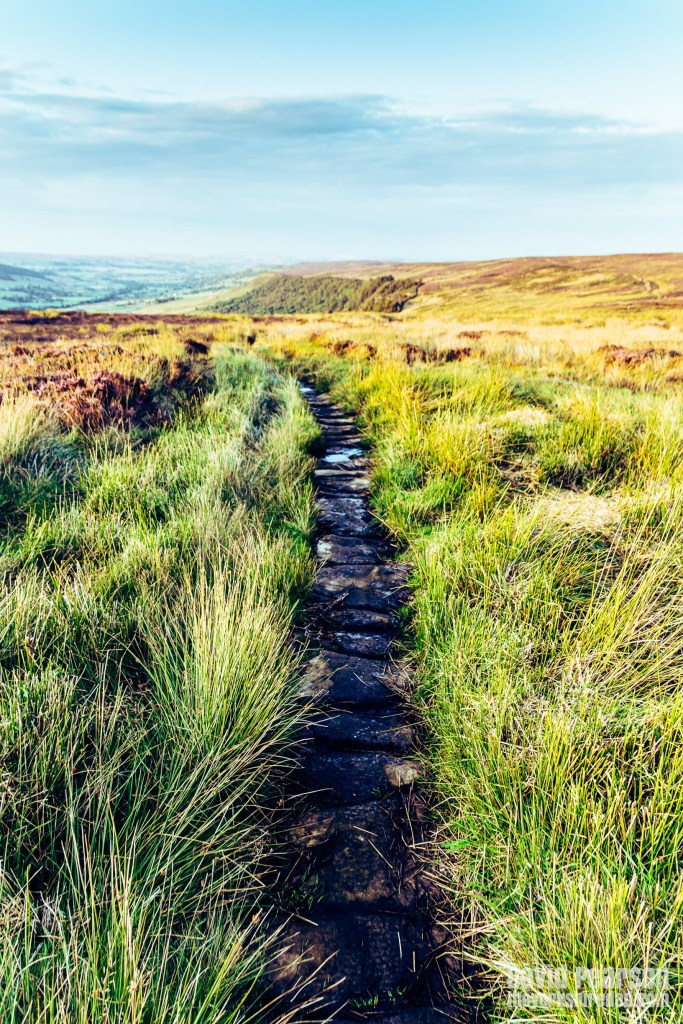 George Gap Causeway on the North York Moors | Evening Walk on the North York Moors | The Yorkshire Dad of 4