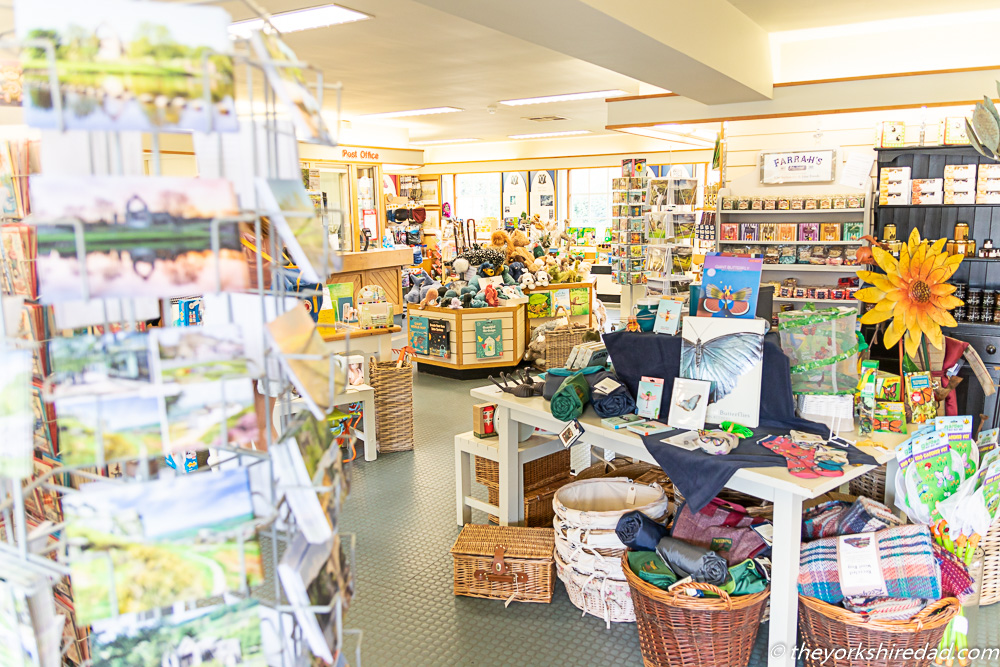 The gift shop at Bolton Abbey | The Yorkshire Dad of 4