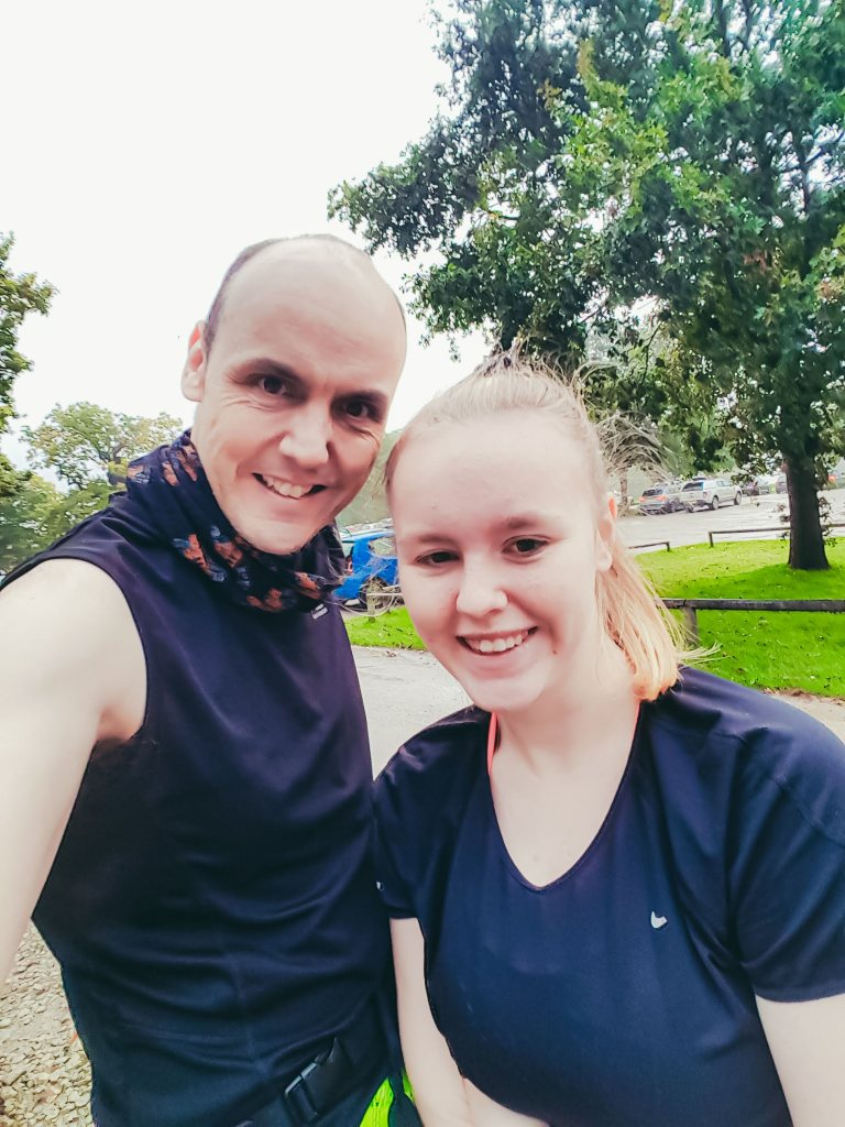 Dad and daughter at Park Run | The Yorkshire Dad of 4
